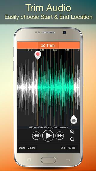 Audio MP3 Cutter Mix Converter and Ringtone Maker скриншот 2