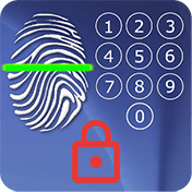 Screen Lock: With Fingerprint Simulator иконка