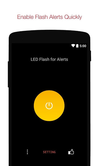 Flash Alerts on Call and SMS скриншот 1