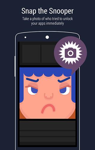 AppLock: Fingerprint Unlock скриншот 1
