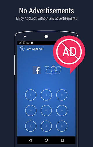 AppLock: Fingerprint Unlock скриншот 2