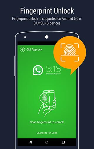 AppLock: Fingerprint Unlock скриншот 3