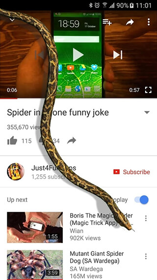 Snake On Screen Hissing Joke скриншот 2