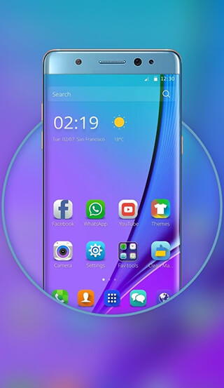 Launcher for Galaxy Note7 скриншот 1