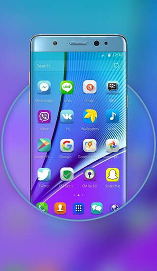 Launcher for Galaxy Note7 скриншот 2