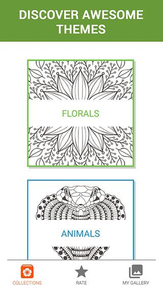 ColorMe: Coloring Book Free скриншот 3
