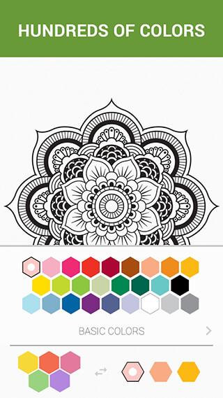 ColorMe: Coloring Book Free скриншот 4