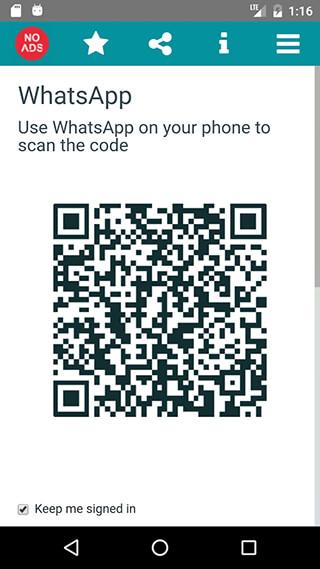 Whatscan App for WhatsWeb скриншот 2