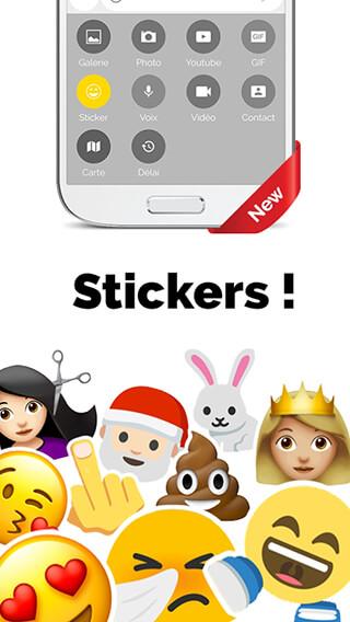 Mood Messenger: SMS and MMS скриншот 2