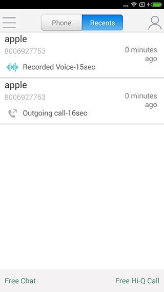 WePhone: Free Phone Calls and Cheap Calls скриншот 4