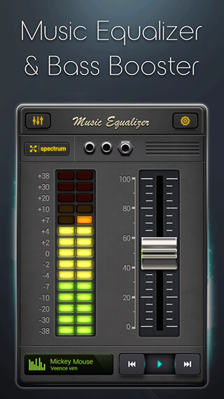 Equalizer: Music Bass Booster скриншот 2