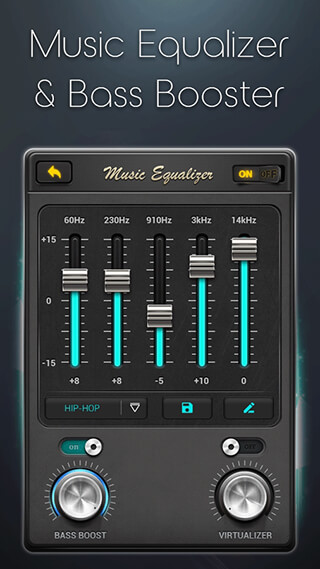 Equalizer: Music Bass Booster скриншот 3