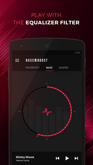 Bass Booster: Music Sound EQ скриншот 4