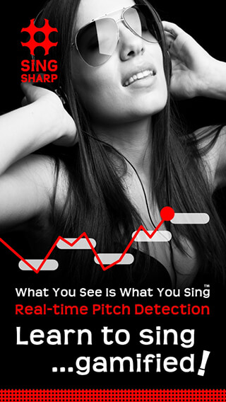 Learn to Sing: Sing Sharp скриншот 1