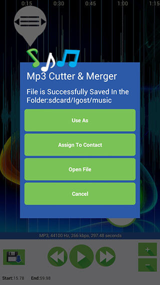 Mp3 Cutter and Merger скриншот 4