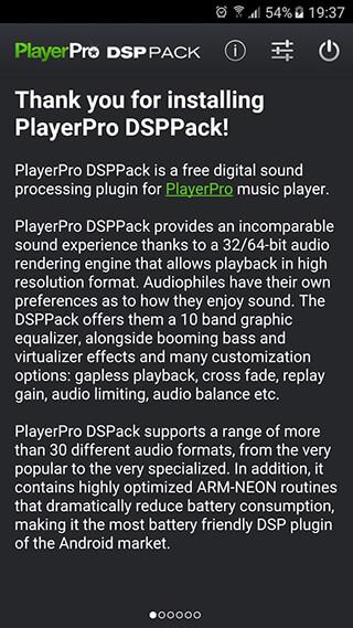 PlayerPro DSP pack скриншот 1