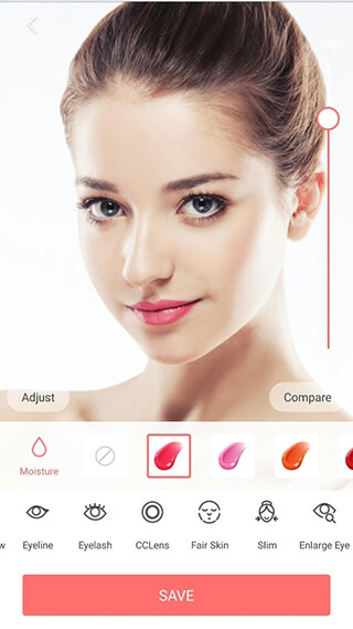Selfie Camera: Filter and Sticker and Photo Editor скриншот 3