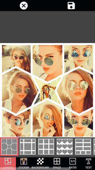 Photo Editor Filter Sticker and PIP Collage Maker скриншот 4