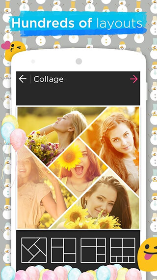 Photo Collage Editor and Collage Maker: Quick Grid скриншот 1