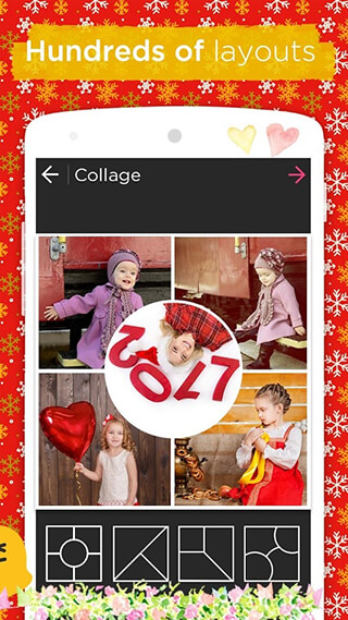 Photo Collage Editor and Collage Maker: Quick Grid скриншот 2