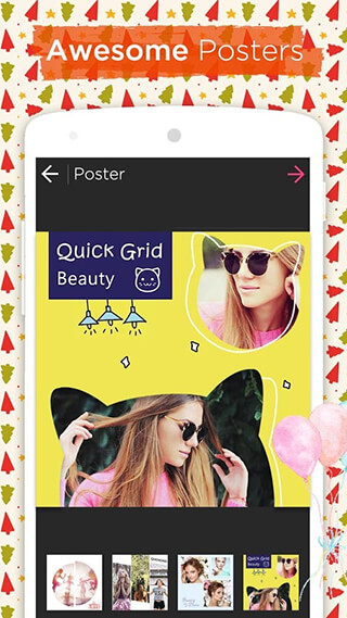 Photo Collage Editor and Collage Maker: Quick Grid скриншот 3
