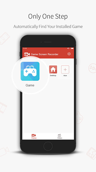 Game Screen Recorder скриншот 1