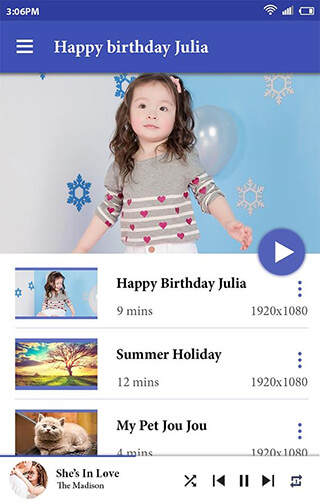 Video Player скриншот 1