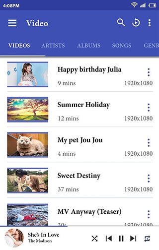 Video Player скриншот 2