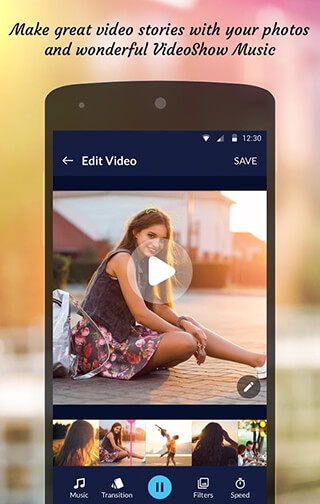 Photo Video Editor скриншот 3
