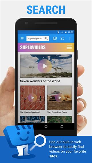 Web Video Cast, Browser to TV: Chromecast/DLNA/+ скриншот 1