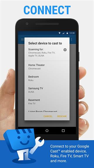 Web Video Cast, Browser to TV: Chromecast/DLNA/+ скриншот 2