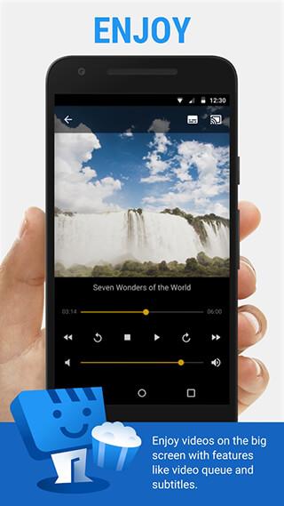 Web Video Cast, Browser to TV: Chromecast/DLNA/+ скриншот 3