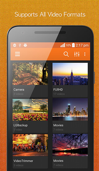 HD Video Player скриншот 1