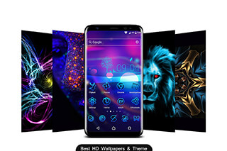 Neon 2, HD Wallpapers: Theme скриншот 1