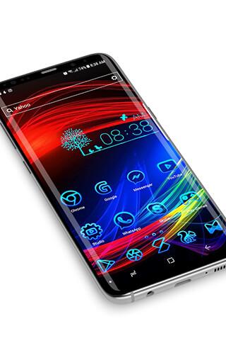 Neon 2, HD Wallpapers: Theme скриншот 4
