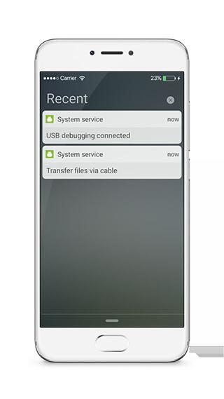 LockScreen Phone7: Notification скриншот 3