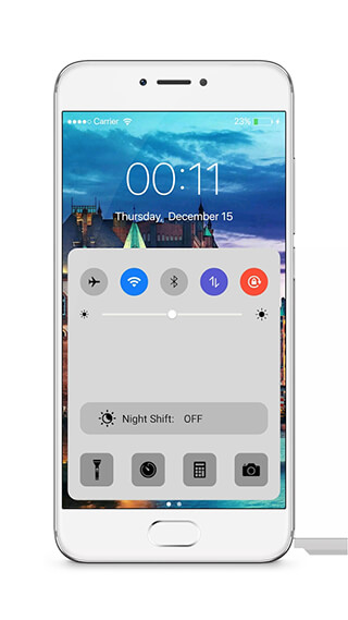 LockScreen Phone7: Notification скриншот 4
