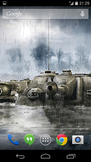 World of Tanks Live Wallpaper скриншот 3