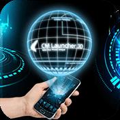 3D Next Tech Theme Launcher for Huawei Samsung иконка
