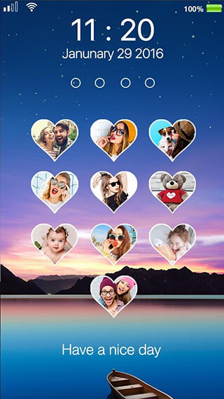 Love Photo Keypad Lockscreen скриншот 3