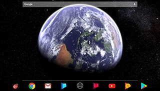Earth and Moon in HD Gyro 3D Parallax Live Wallpaper скриншот 3