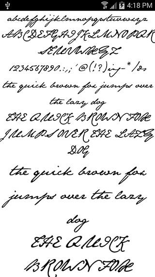 Fonts for FlipFont Romance скриншот 2