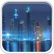 Dubai Night Live Wallpaper иконка