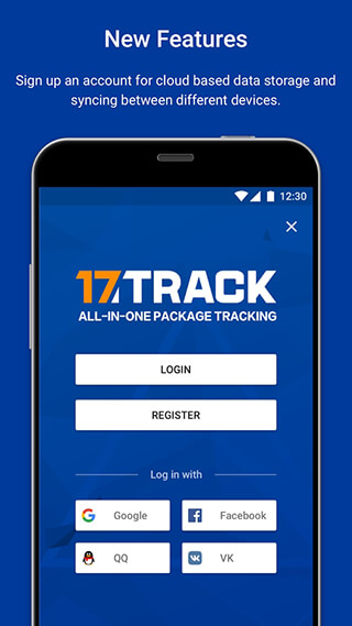 17TRACK: ALL-IN-ONE PACKAGE TRACKING скриншот 1