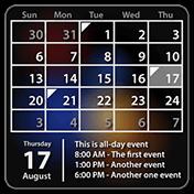 Calendar Widget Month + Agenda иконка