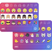Emoji One Kika Keyboard Plugin иконка
