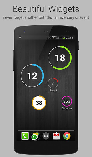 Countdown Days: App and Widget скриншот 2