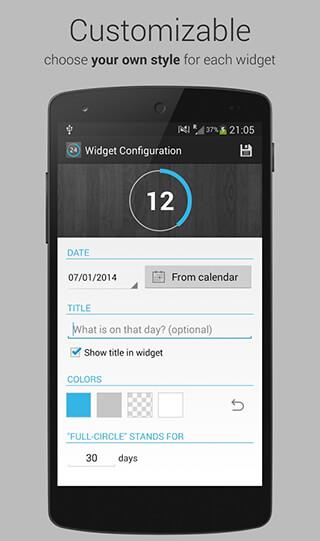 Countdown Days: App and Widget скриншот 3
