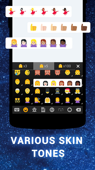 Emoji keyboard: Cute Emoji скриншот 1