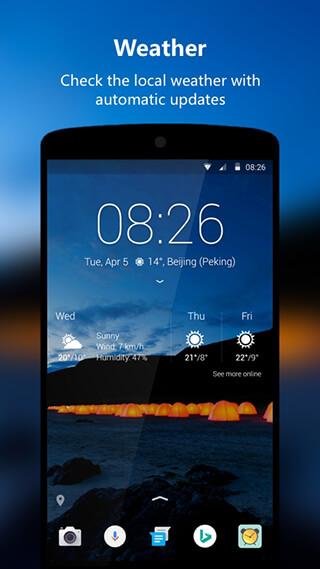 Next Lock Screen скриншот 4